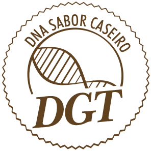 Selo DNA sabor caseiro D'guste