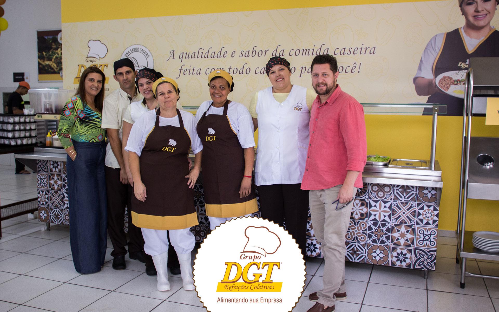 Grupo DGT inaugura restaurante na Enova Foods, Catanduva.